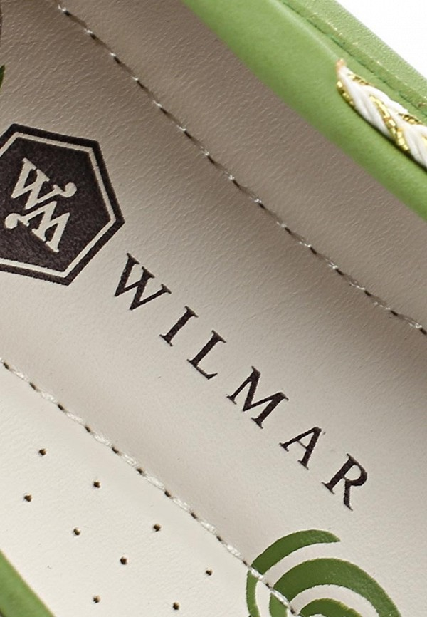 фото Топсайдеры женские Wilmar WI064AWAPV81, зеленые