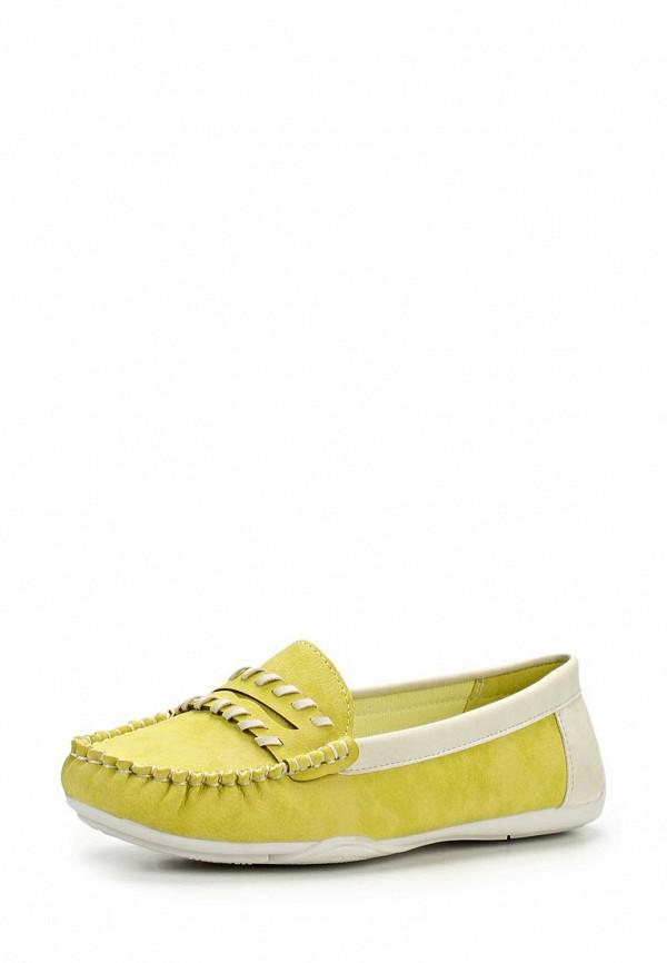 фото Мокасины женские Wilmar WI064AWAPV96, желто-зеленые