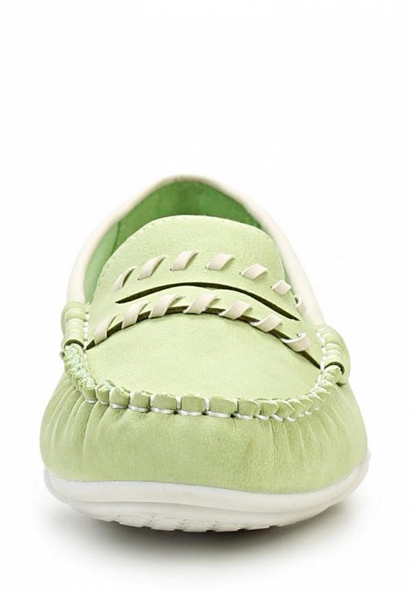 фото Мокасины женские Wilmar WI064AWAPV98, зеленые