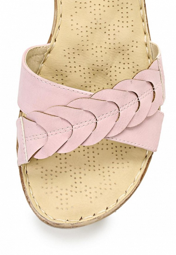 фото Босоножки на каблуке Wilmar WI064AWAPW94, розовые