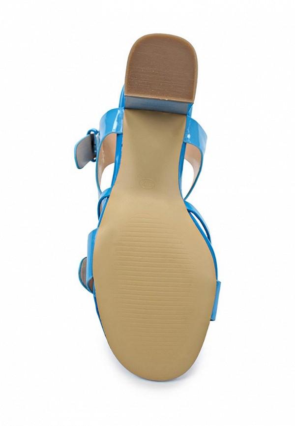 фото Босоножки на толстом каблуке Wilmar WI064AWAPY86, голубые