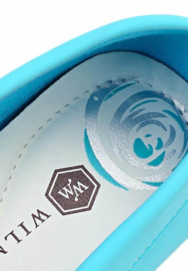 фото Топсайдеры женские Wilmar WI064AWAPZ42, голубые