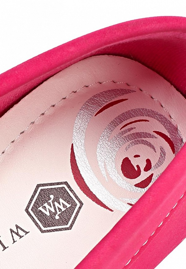 фото Топсайдеры женские Wilmar WI064AWAPZ44, розовые