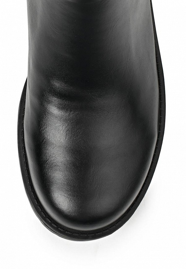 фото Сапоги женские Wilmar WI064AWCBJ31, черные кожаные