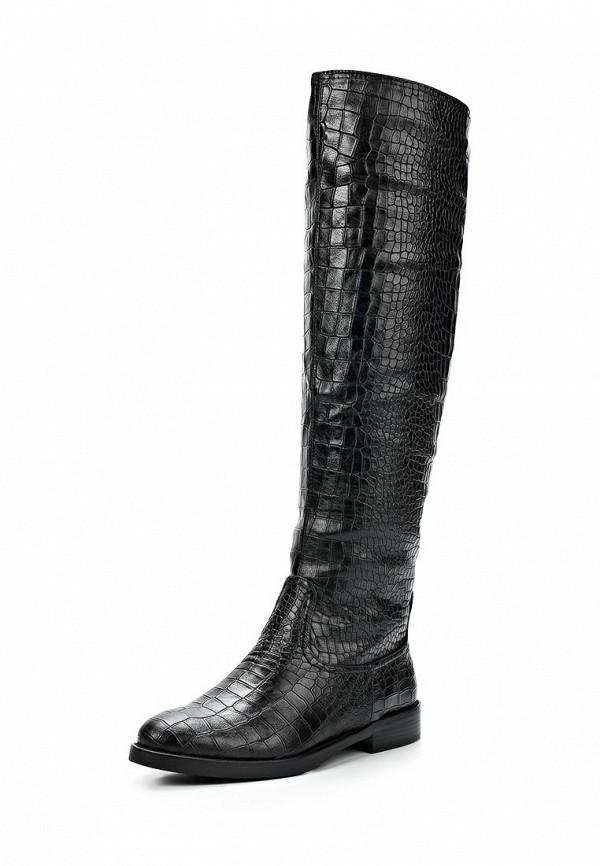 фото Женские ботфорты без каблука Wilmar WI064AWCBJ41, черные