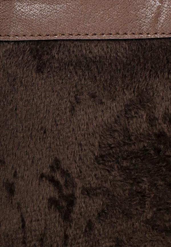 фото Женские сапоги-ботфорты Wilmar WI064AWCBJ42, коричневые без каблука