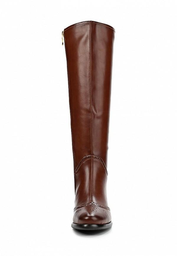 фото Сапоги на толстом каблуке Wilmar WI064AWCCS26, коричневые кожаные