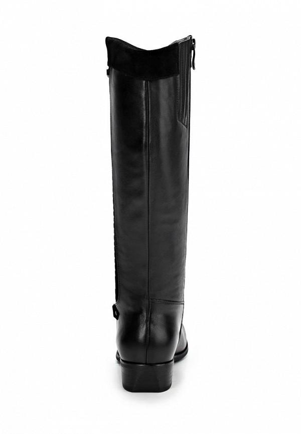 фото Сапоги женские Wilmar WI064AWCMI75, черные кожаные