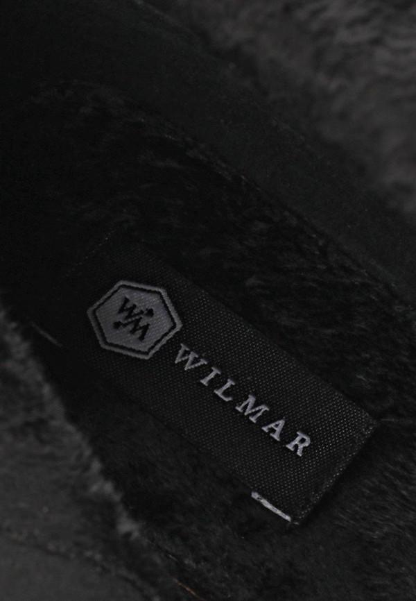 фото Сапоги женские на плоской подошве Wilmar WI064AWCMI77, черные