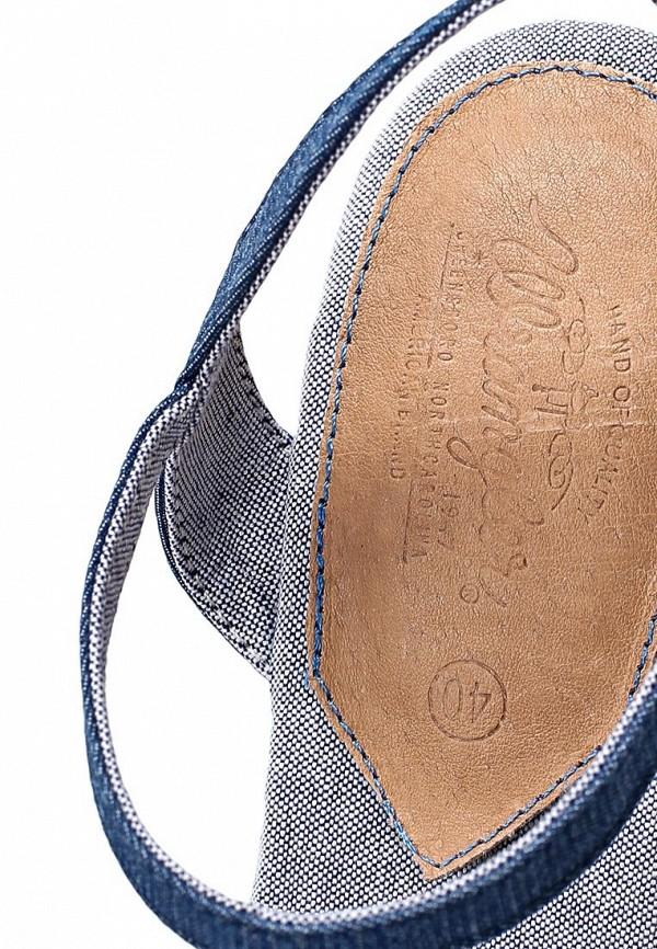 фото Босоножки на платформе Wrangler WR224AWAXI50, синие/цветные