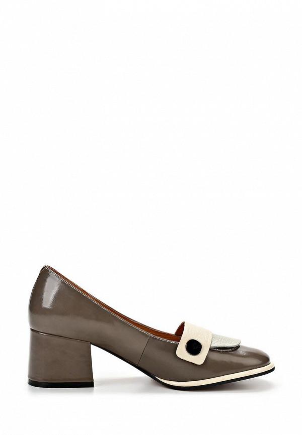 фото Туфли на толстом каблуке Yaro YA805AWAQJ49, коричневые