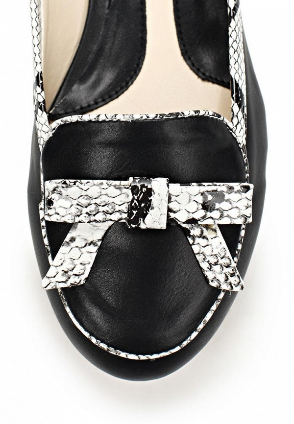 фото Лоаферы женские на каблуке Yaro YA805AWAQK05, черные