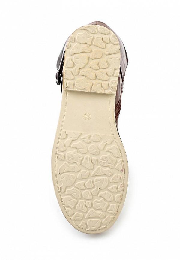 фото Женские сапоги-ботфорты Yaro YA805AWCPZ14, коричневые
