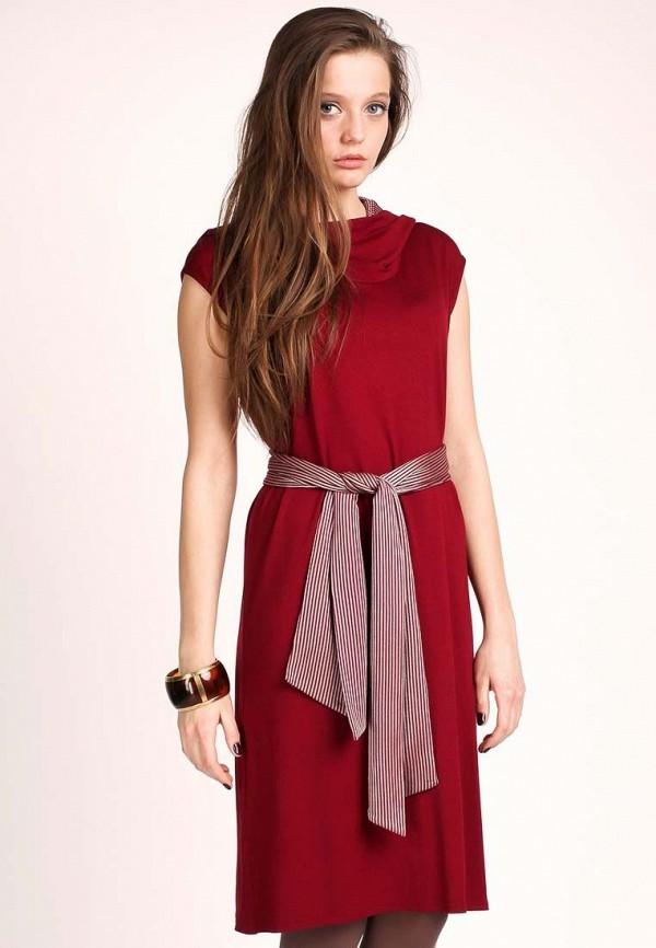 Платье Yetonado. Цвет: бордовый