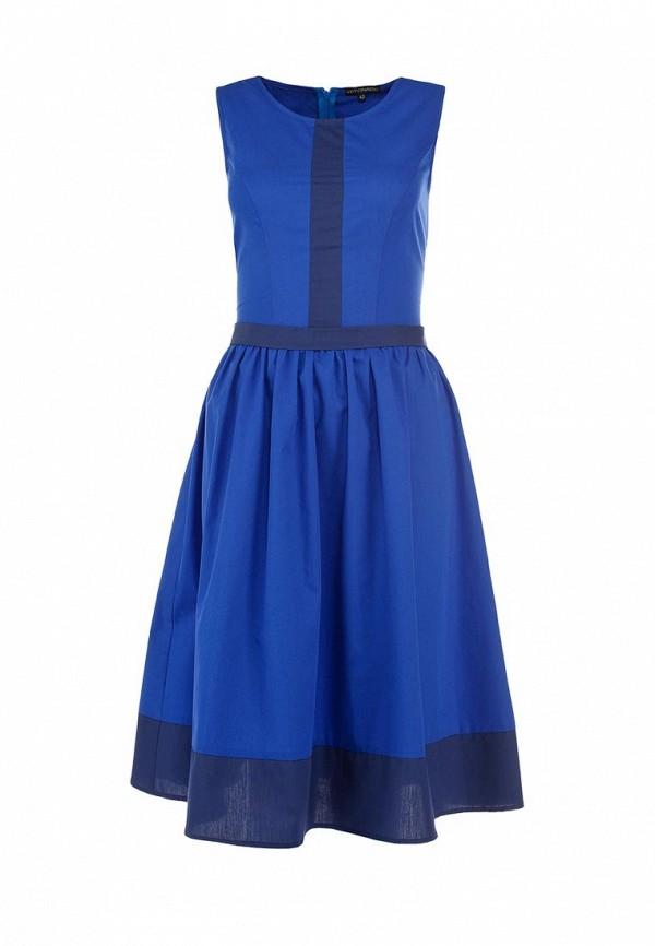 Платье Yetonado. Цвет: синий