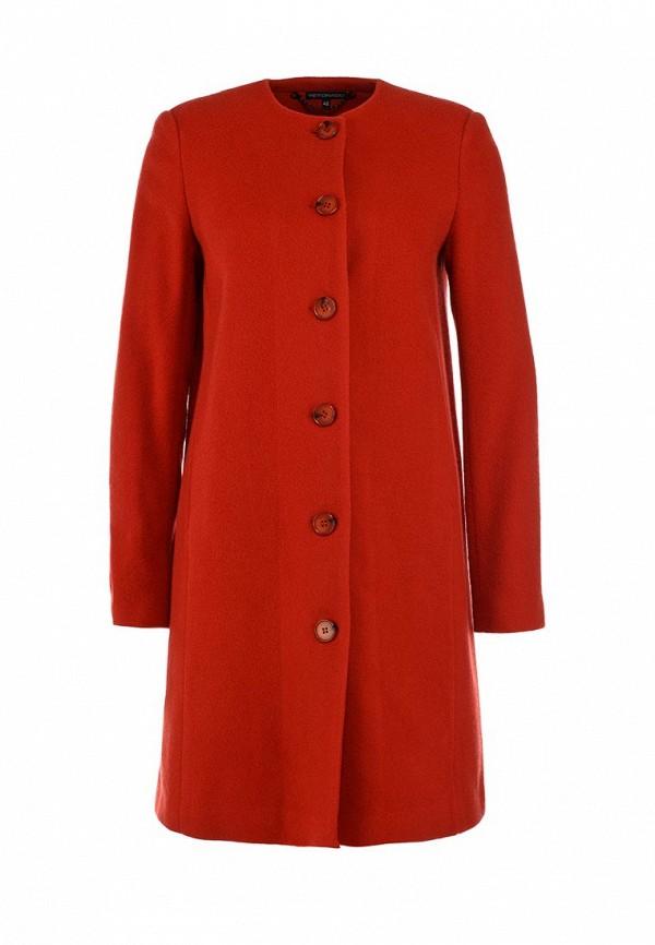 Пальто Yetonado. Цвет: красный
