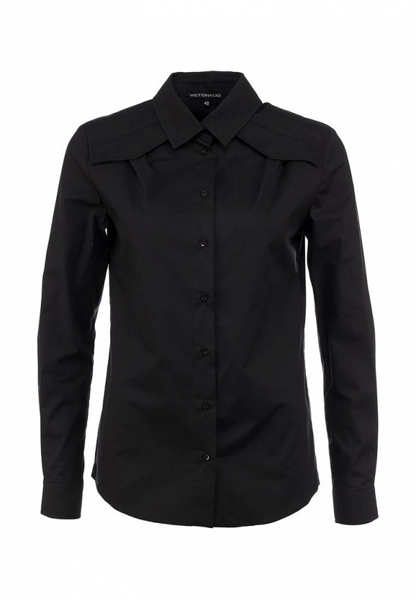 Рубашка Yetonado. Цвет: черный