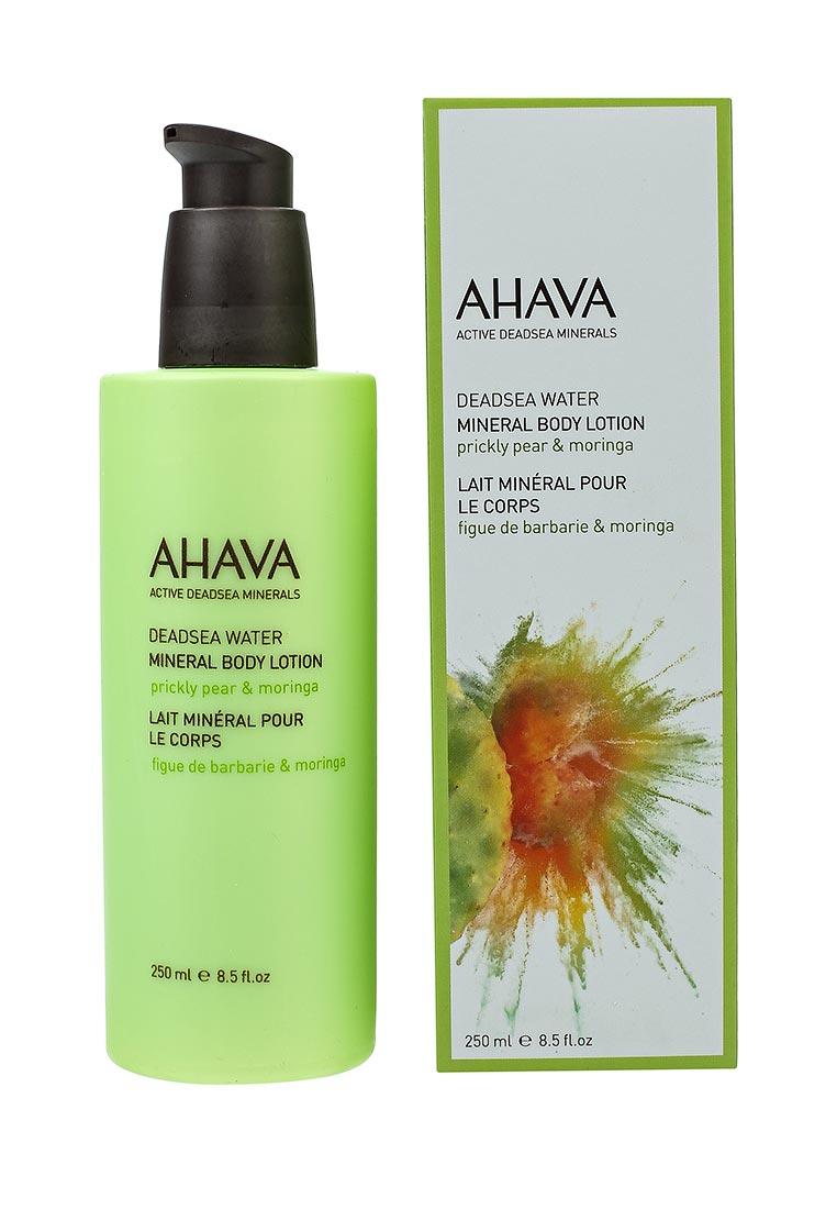 Ahava Deadsea Water Минеральный  для тела опунция и моринга 250 мл пилинг для тела ahava deadsea water 200 мл