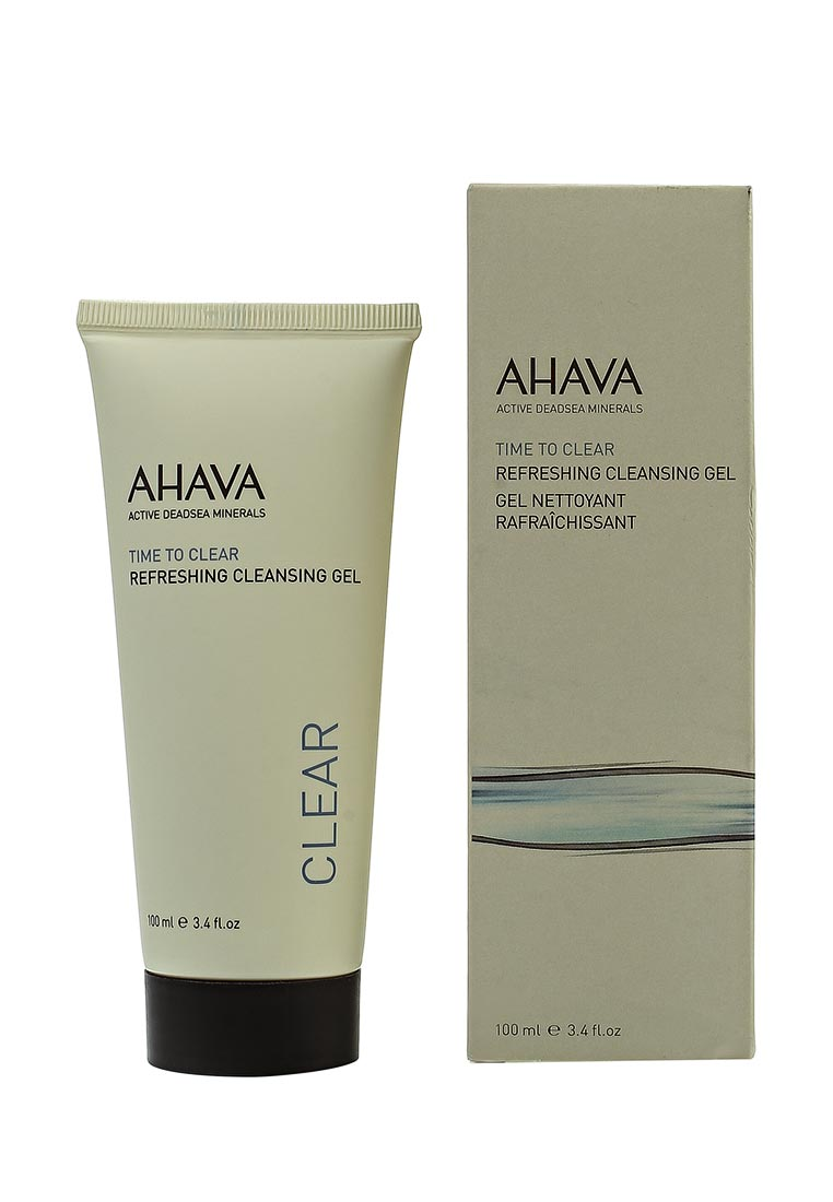 Ahava Time To Clear Освежающий для очищения кожи 100 мл ahava time to clear purifying mud mask объем 100 мл