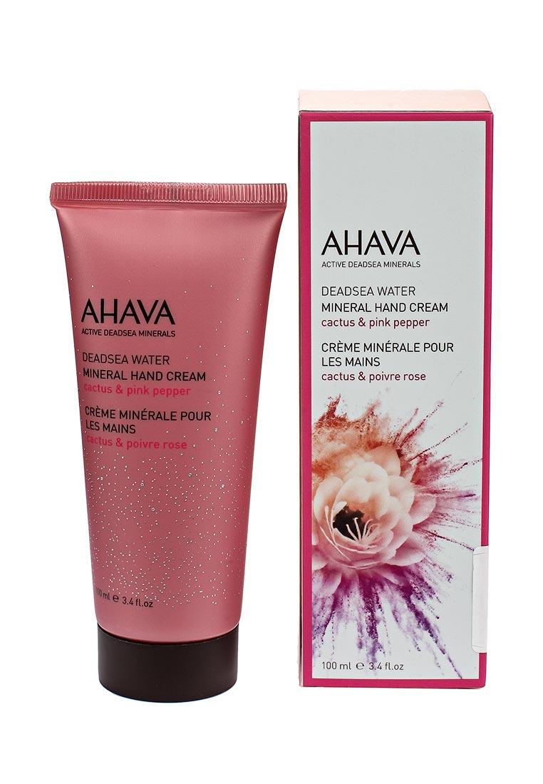 Ahava Deadsea Water Минеральный  для рук кактус и розовый перец 100 мл ahava минеральный крем для ног
