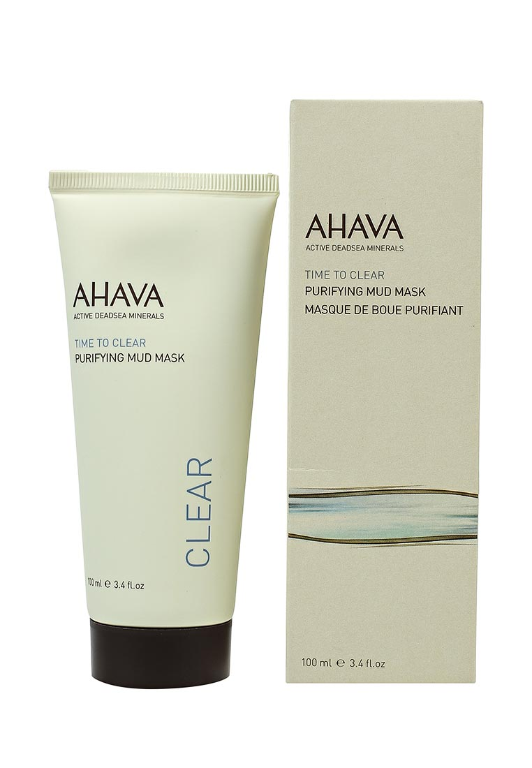 Ahava Time To Clear Очищающая грязевая 100 мл ahava time to clear purifying mud mask объем 100 мл