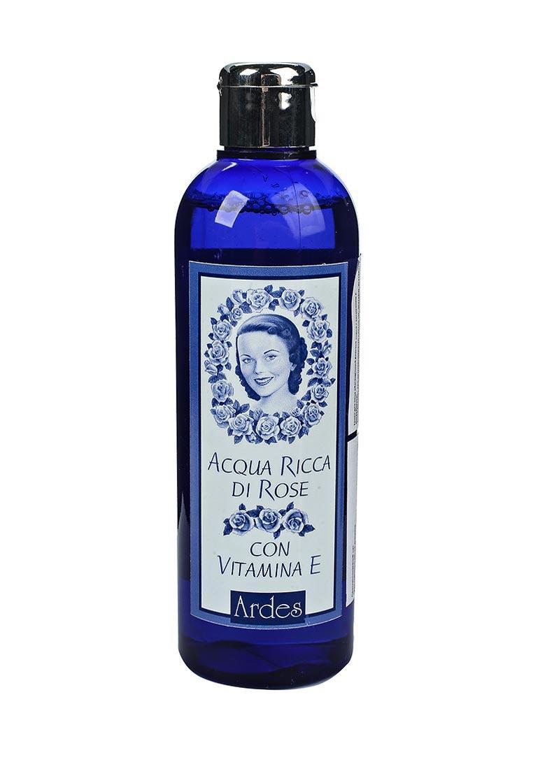 Ardes розовая вода с витамином Е, 250 мл лавена розовая вода роуз оф болгария 330 мл