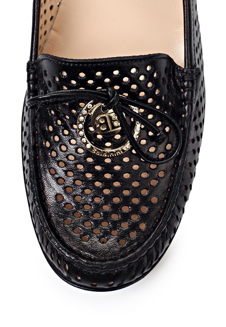 352b265aa Купить Туфли-лоферы женские Baldinini (Балдинини), черные по цене ...