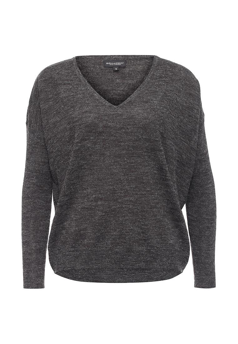Серый Пуловер Женский Доставка