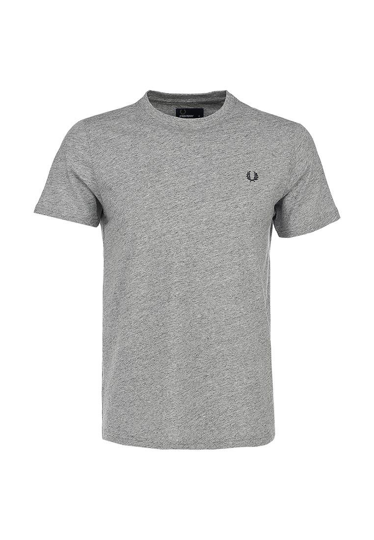 футболка серая мужская