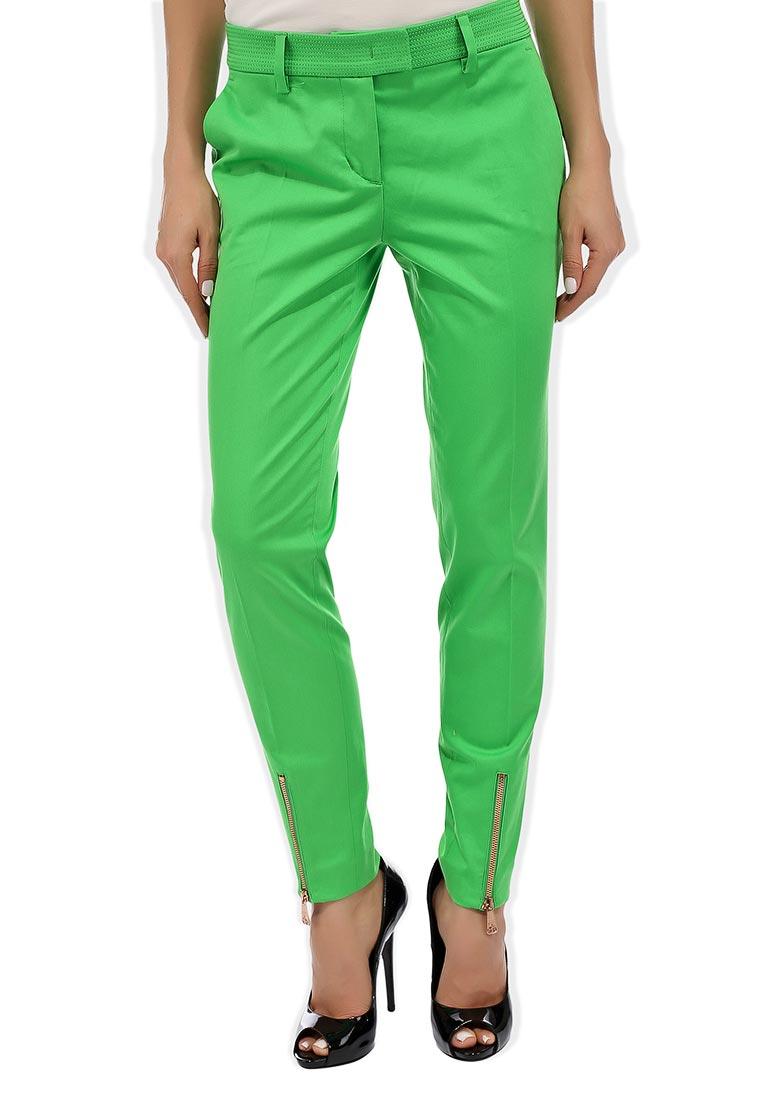 Зеленые летние брюки женские