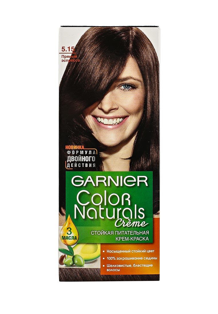 Горячий шоколад цвет волос гарньер