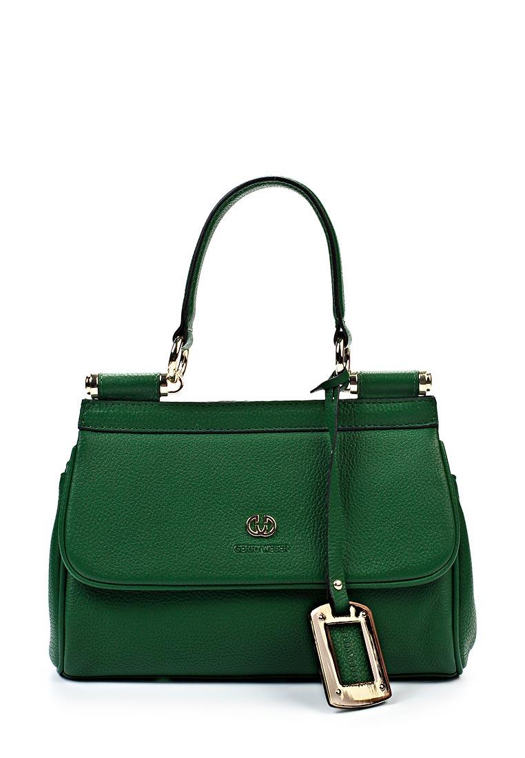 Аутентичная сумка зеленого цвета от Gerry Weber - яркий акцент в повседневном гардеробе.