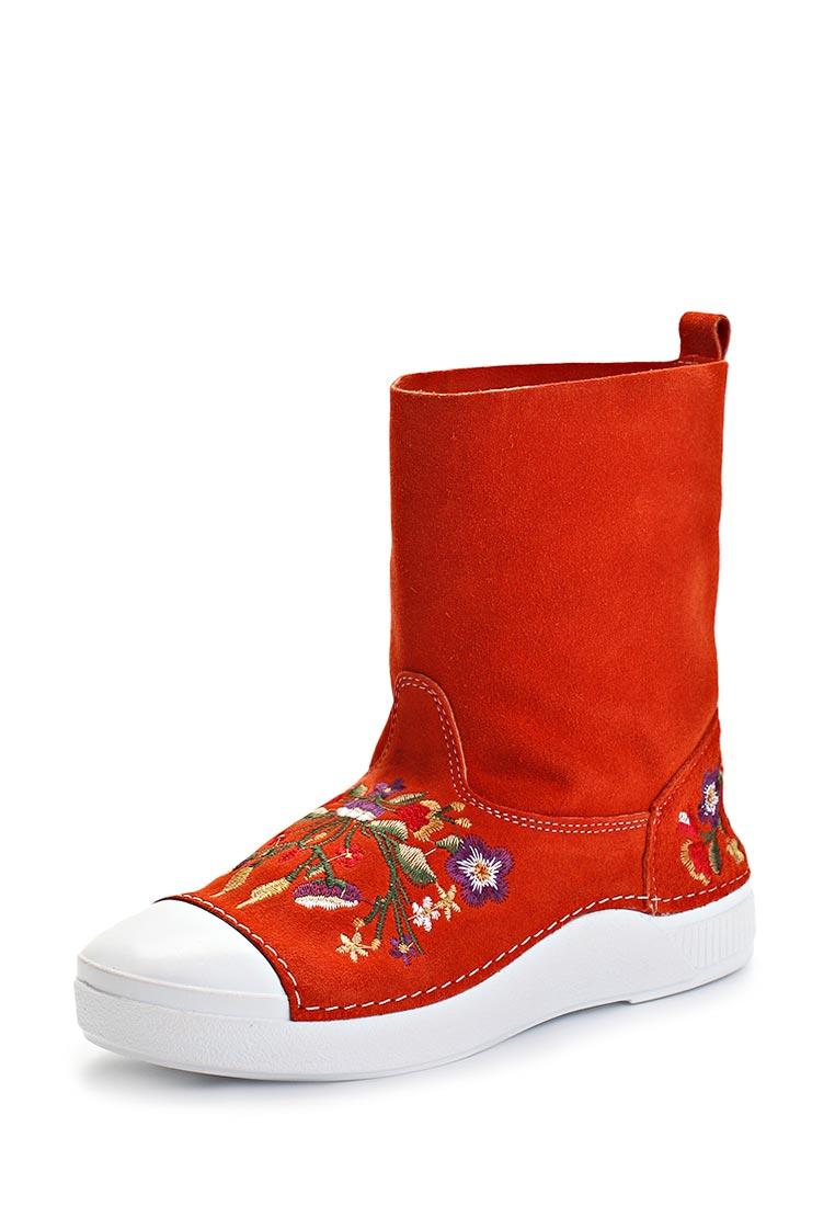 Купить Стильные Полусапоги Ботинки