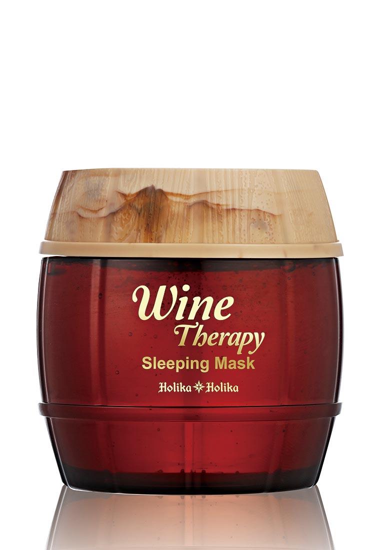 Holika Holika желе ночная Wine Therapy красное вино
