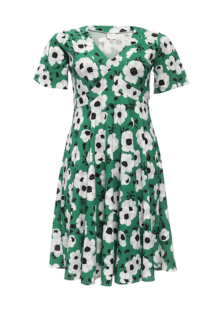 Just Joan SKATER DRESS IN FLORAL PRINT