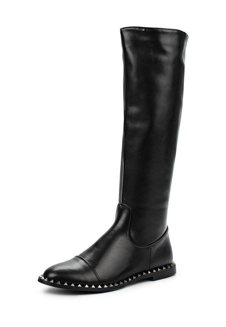 LOST INK GAMER STUD RAND KNEE-HIGH BOOTS