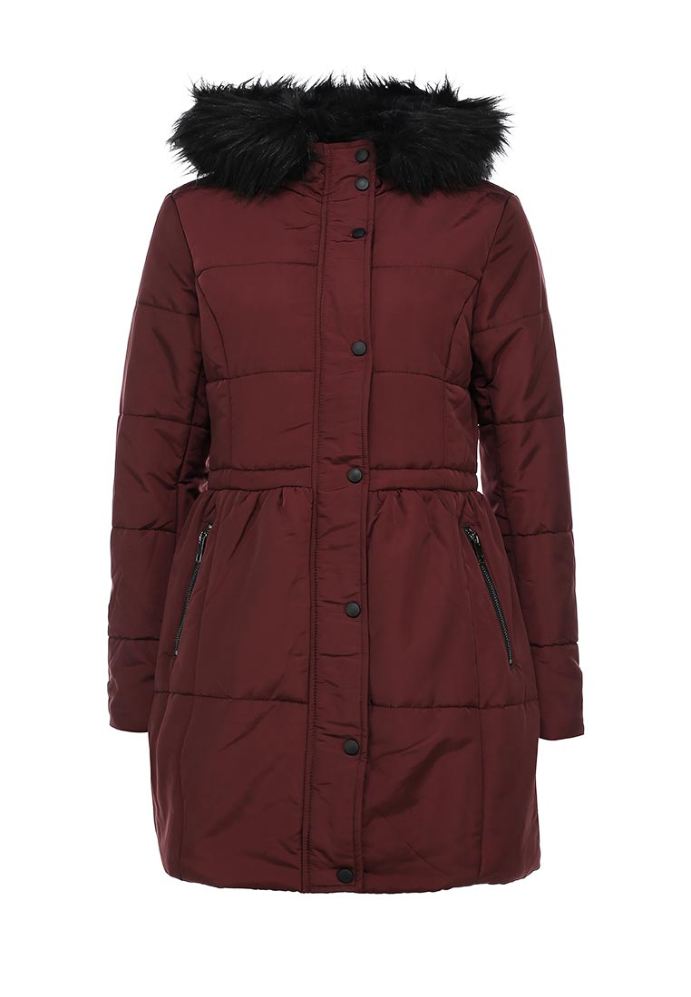LOST INK SKIRTED PUFFY COAT