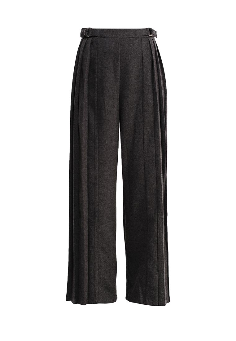 Lost Ink WIDE LEG TROUSER WITH PLEAT SIDES