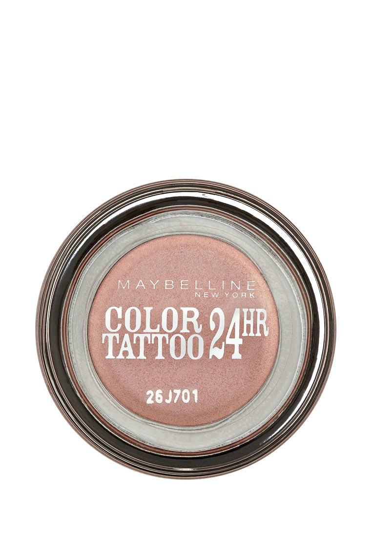 Maybelline New York для век Color Tattoo 24 часа оттенок 65 Розовое золото 3,5 мл maybelline new york для век color tattoo 24 часа оттенок 60 бессменный черный 4 мл