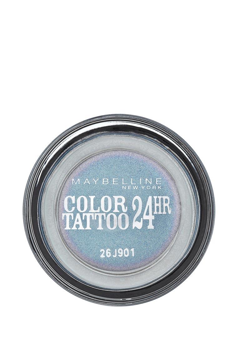 Maybelline New York для век Color Tattoo 24 часа оттенок 87 Загадочный сиреневый 4 мл maybelline new york тени для век color tattoo 24 часа оттенок 45 бесконечно белый 4 мл