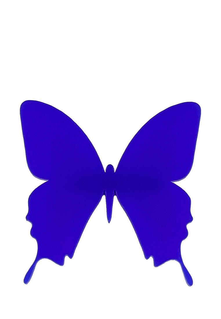 НечегоНадеть FLY нечегонадеть брошь цветок синий
