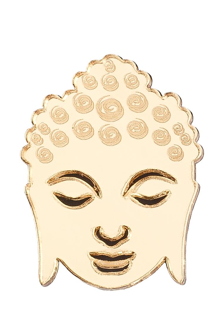 НечегоНадеть нечегонадеть брошь цветок золотой