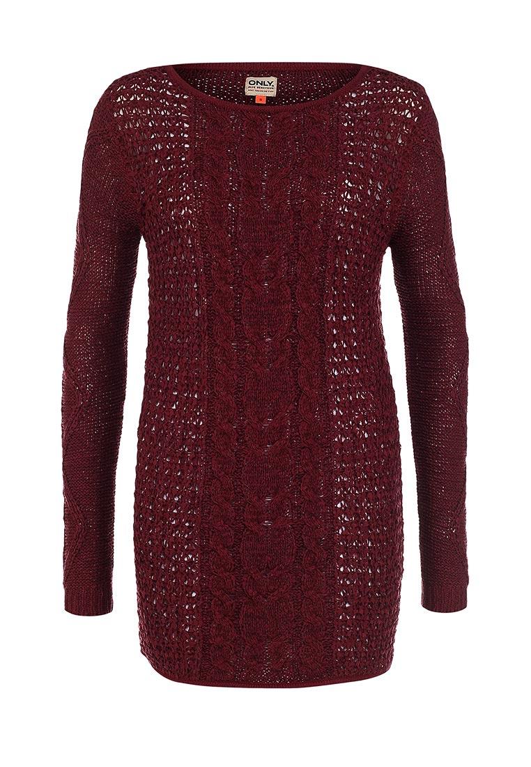 Пуловер Бордовый С Доставкой