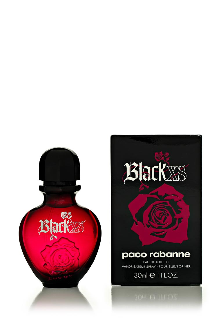 Paco Rabanne Black XS For her 30 мл play for her парфюмерная вода 30 мл