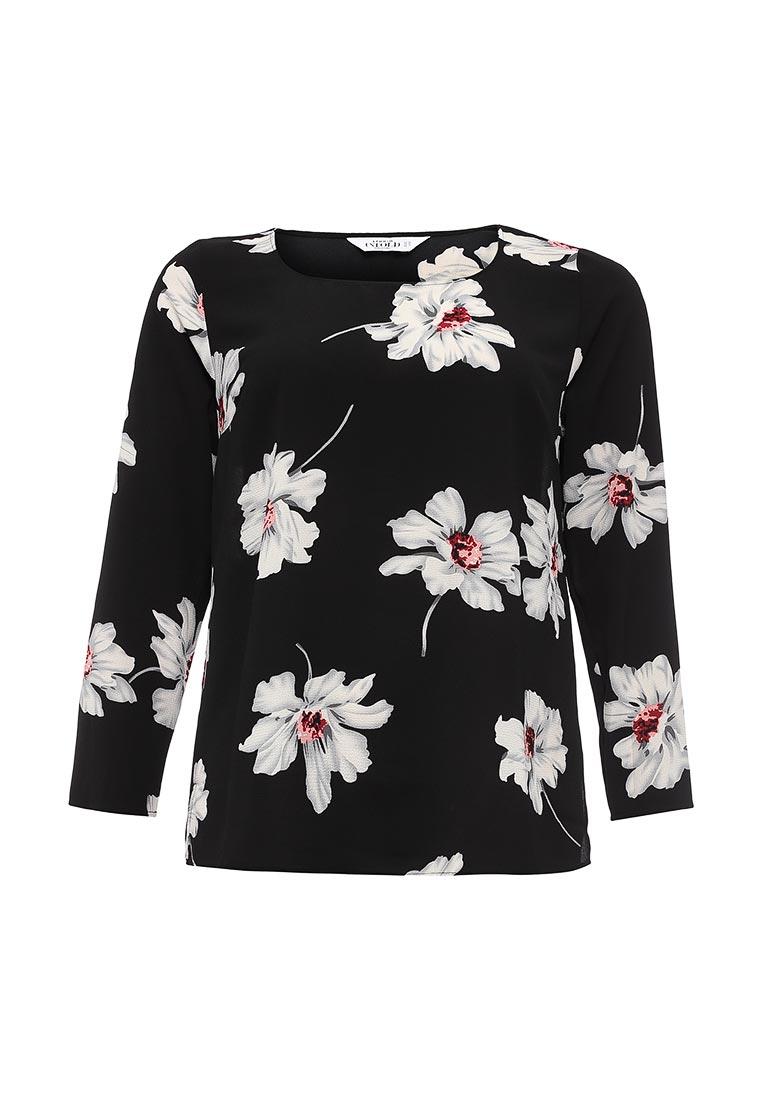 Studio Untold 706654 dimma fashion studio блуза ясмина коричневый