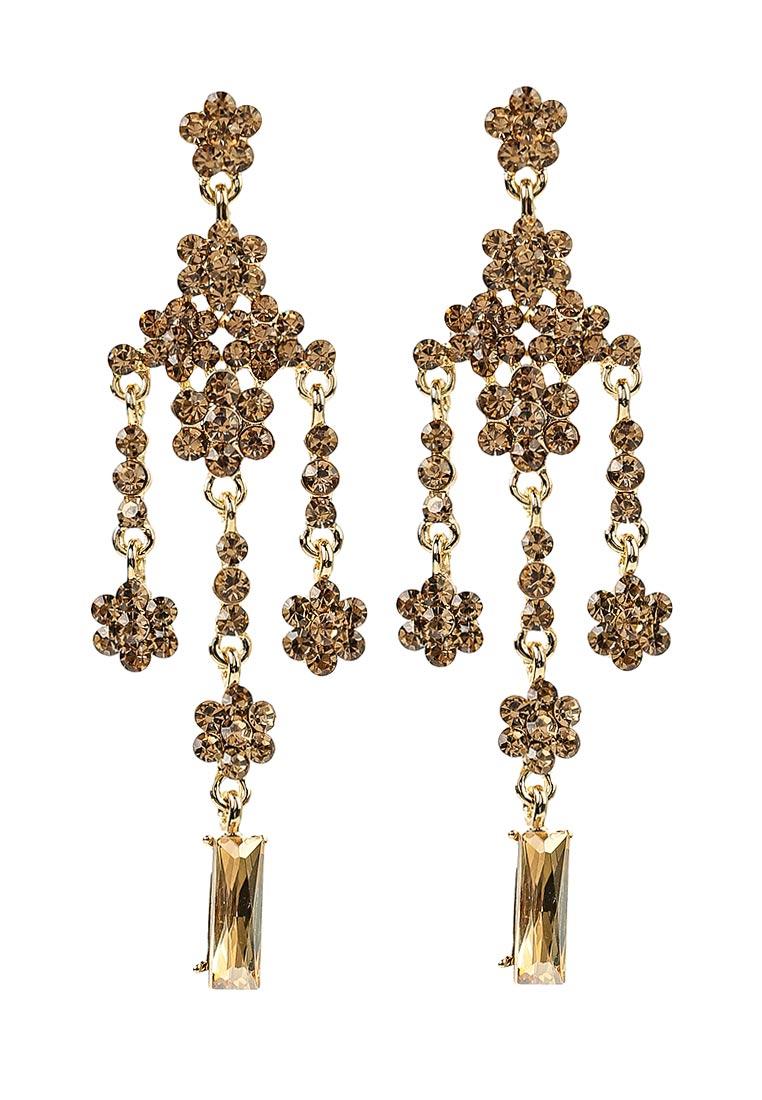 Taya T-B-11225-EARR-GOLD серьги taya цвет серебристый t b 4827