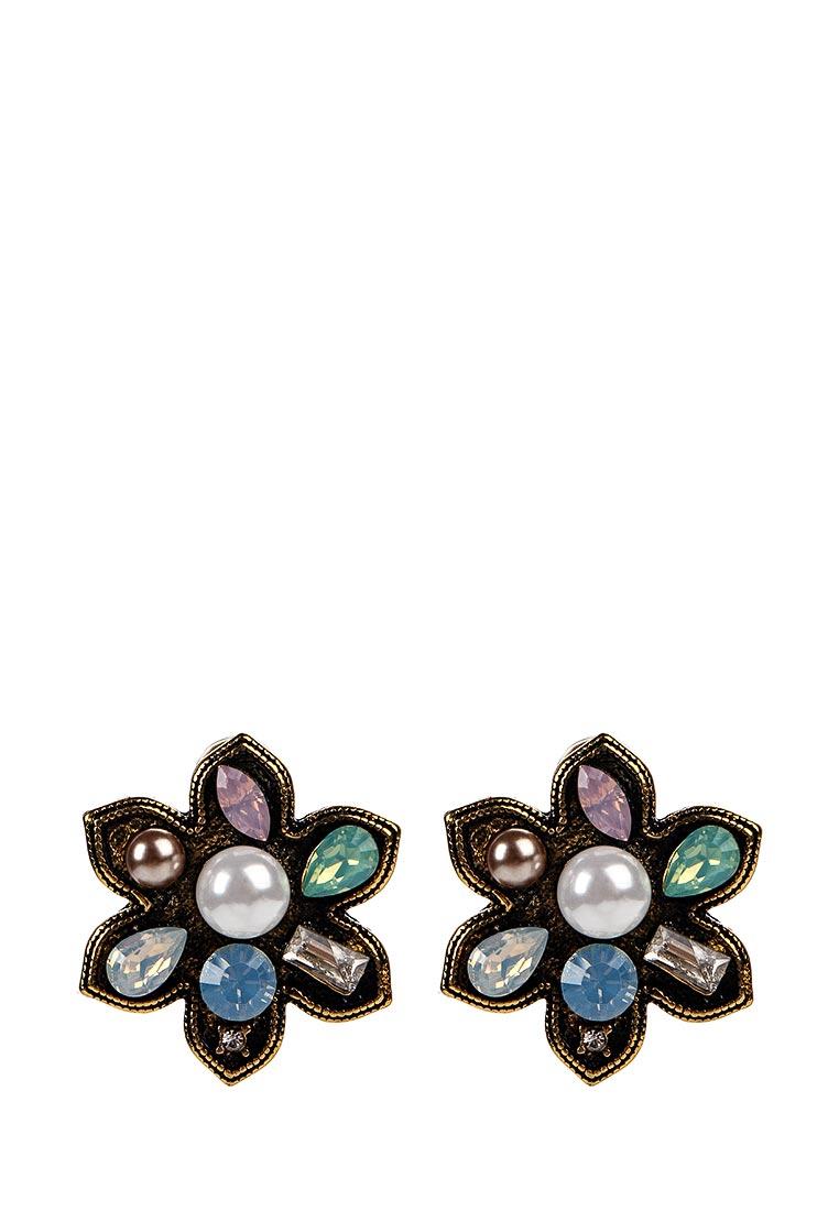 Taya T-B-12852-EARR-MULTI серьги taya цвет серебристый t b 4827
