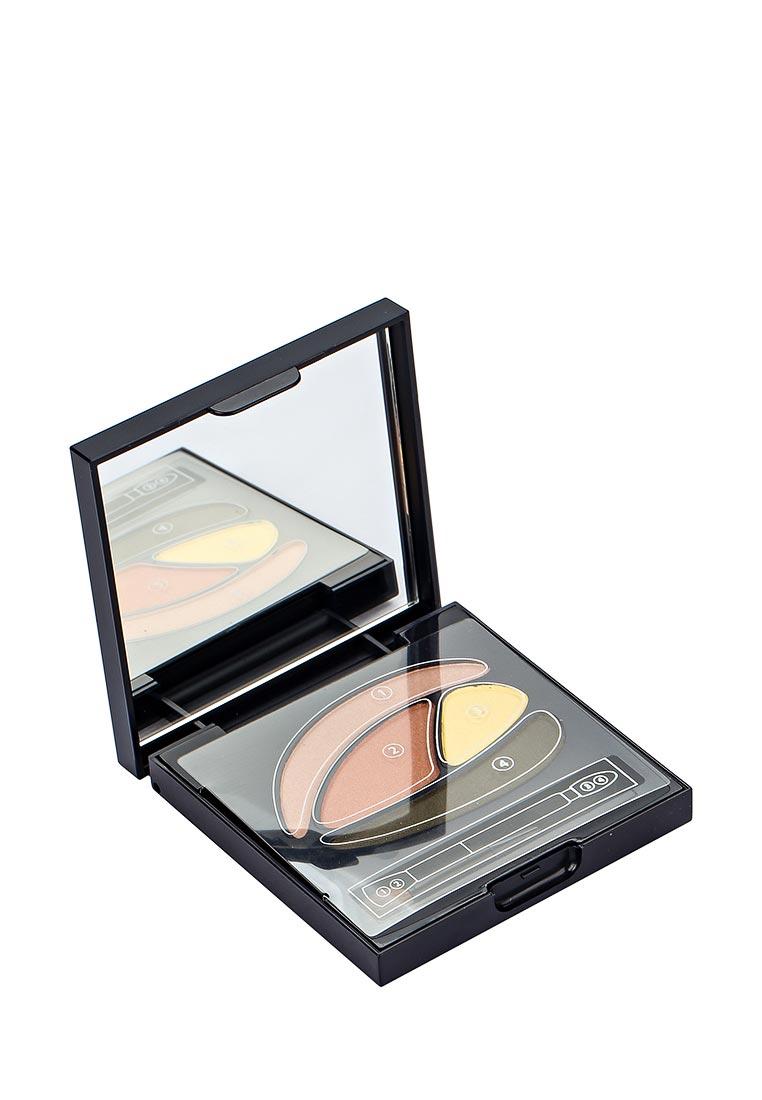 Touch in Sol теней для век Ideal Visual Multi Color Eye Shadow, №1 Orange Holic 8 г