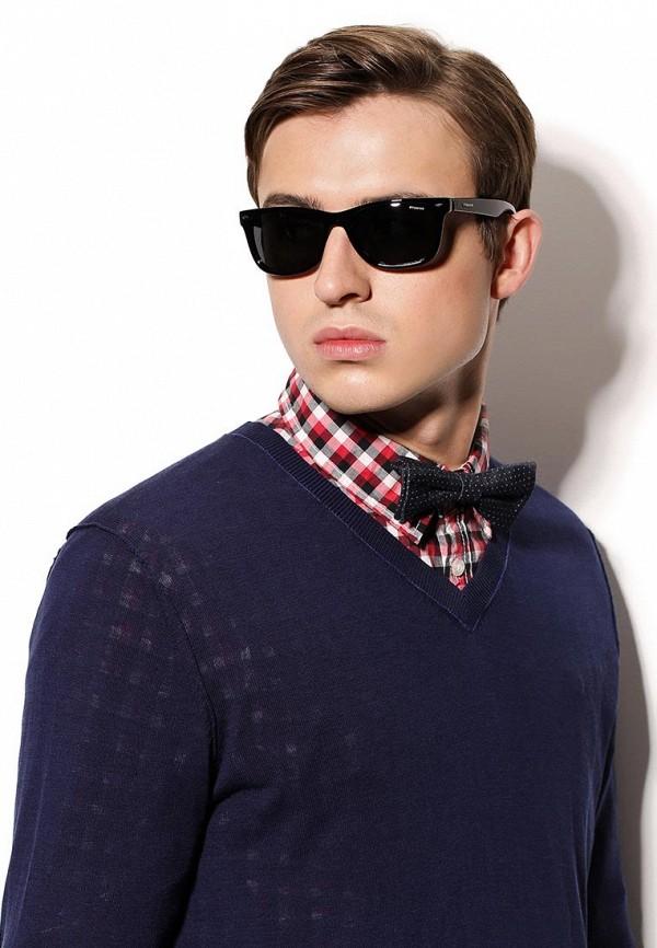 Солнцезащитные очки черные линзы