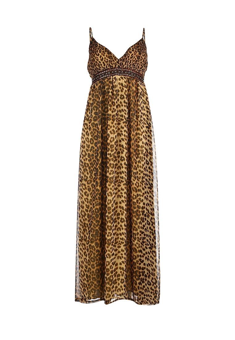 Платье Be In коричневый Сар леопард